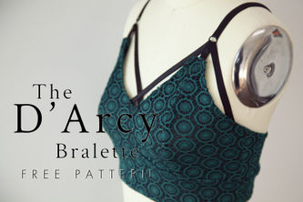 Related Mood Sewciety Post - The D'Arcy Bralette - Free Sewing Pattern