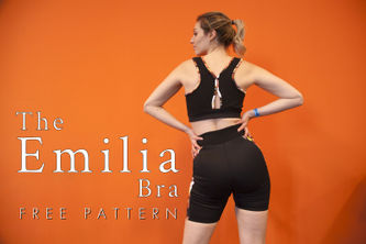 Related Mood Sewciety Post - The Emilia Sports Bra - Free Sewing Pattern