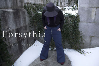 Related Mood Sewciety Post - The Forsythia Jeans - Free Sewing Pattern