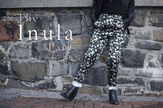 Related Mood Sewciety Post - The Inula Pants - Free Sewing Pattern
