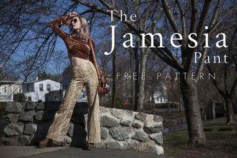 Related Mood Sewciety Post - The Jamesia Pant - Free Sewing Pattern
