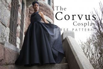Related Mood Sewciety Post - The Corvus Cosplay - Free Ramonda Sewing Pattern