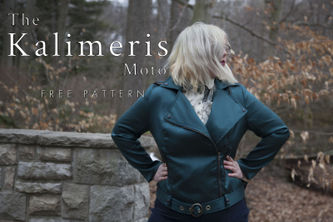 Related Mood Sewciety Post - The Kalimeris Moto - Free Sewing Pattern
