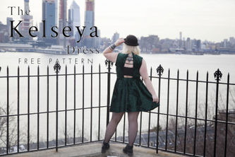 Related Mood Sewciety Post - The Kelseya Dress - Free Sewing Pattern