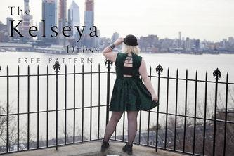 Related Mood Sewciety Post - The Kelseya Dress - Free Sewing Pattern