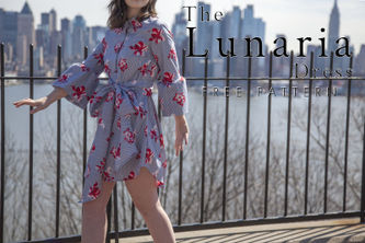 Related Mood Sewciety Post - The Lunaria Dress - Free Sewing Pattern