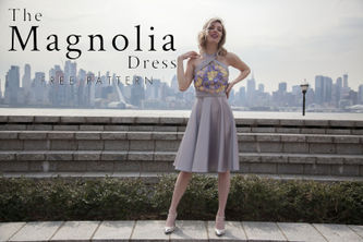 Related Mood Sewciety Post - The Magnolia Dress - Free Sewing Pattern