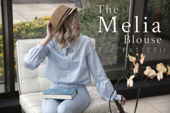 Related Mood Sewciety Post - The Melia Blouse - Free Sewing Pattern