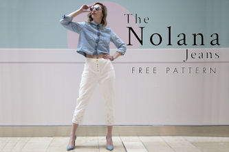 Related Mood Sewciety Post - The Nolana Jeans - Free Sewing Pattern