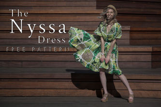 Related Mood Sewciety Post - The Nyssa Dress - Free Sewing Pattern