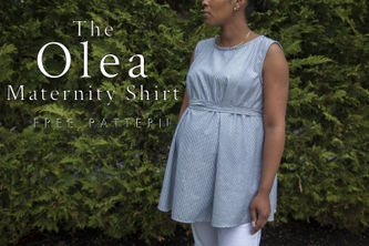 Related Mood Sewciety Post - The Olea Maternity Shirt - Free Sewing Pattern