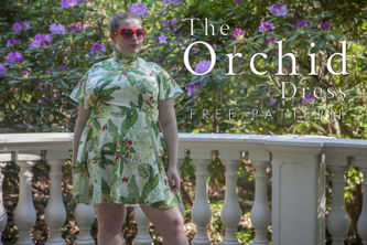 Related Mood Sewciety Post - The Orchid Dress - Free Sewing Pattern