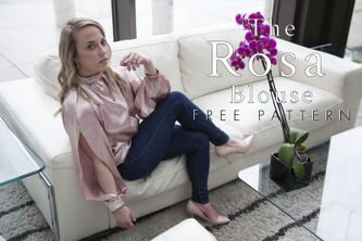 Related Mood Sewciety Post - The Rosa Blouse - Free Sewing Pattern