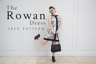 Related Mood Sewciety Post - The Rowan Dress - Free Sewing Pattern