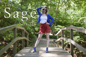 Related Mood Sewciety Post - The Sage Shorts - Free Sewing Pattern