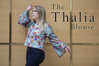 Related Mood Sewciety Post - The Thalia Blouse - Free Sewing Pattern
