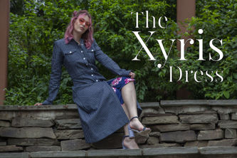 Related Mood Sewciety Post - The Xyris Dress - Free Sewing Pattern