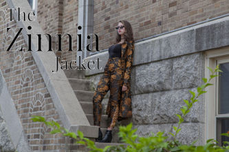 Related Mood Sewciety Post - The Zinnia Jacket - Free Sewing Pattern