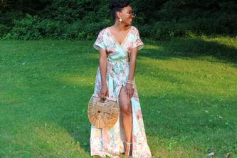 Related Mood Sewciety Post - Palm Leaf Caftan Dress