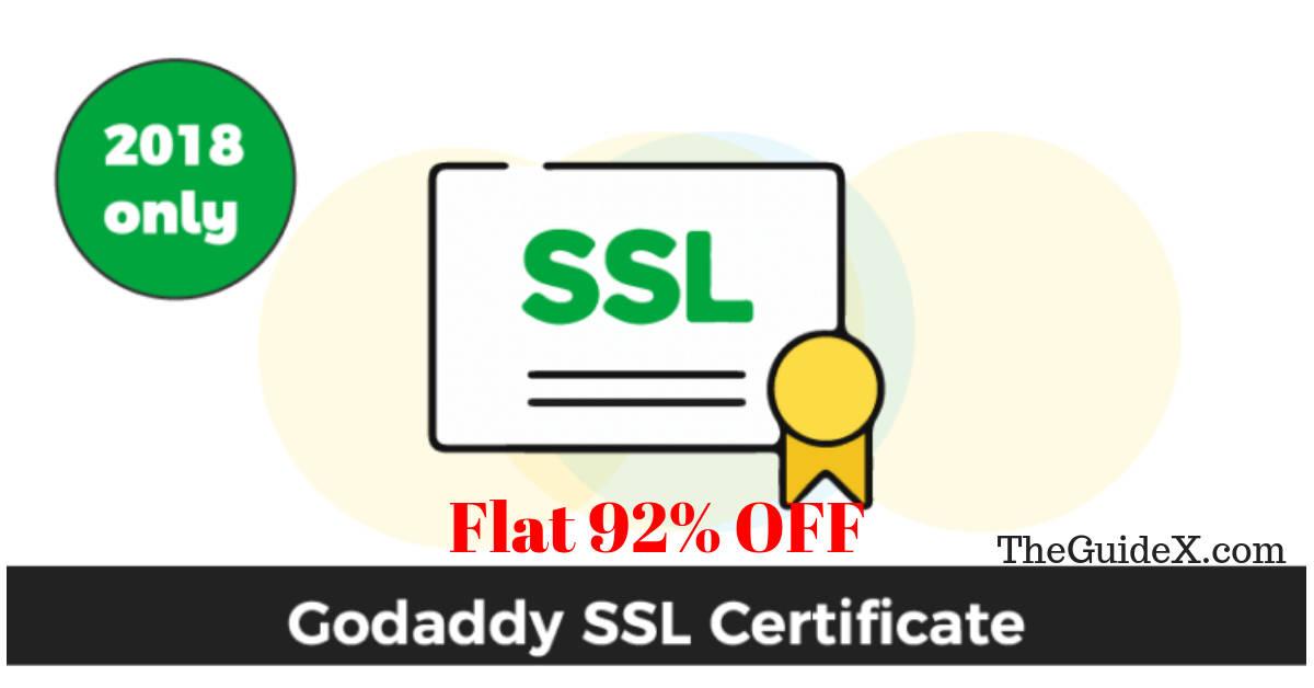 GoDaddy SSL Coupon, GoDaddy SSL Promo Code
