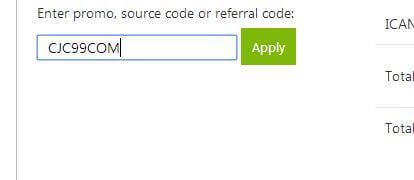 godaddy 99 cent domain, 99 cent domain, GoDaddy domain $1, cheap domain registration, $0.99 domain coupon