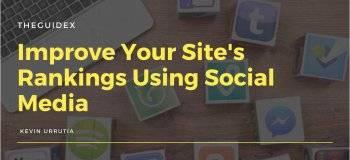 improve ranking, social media