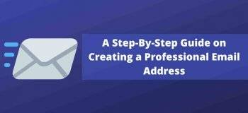 create professional email, professional email, how to create a professional email