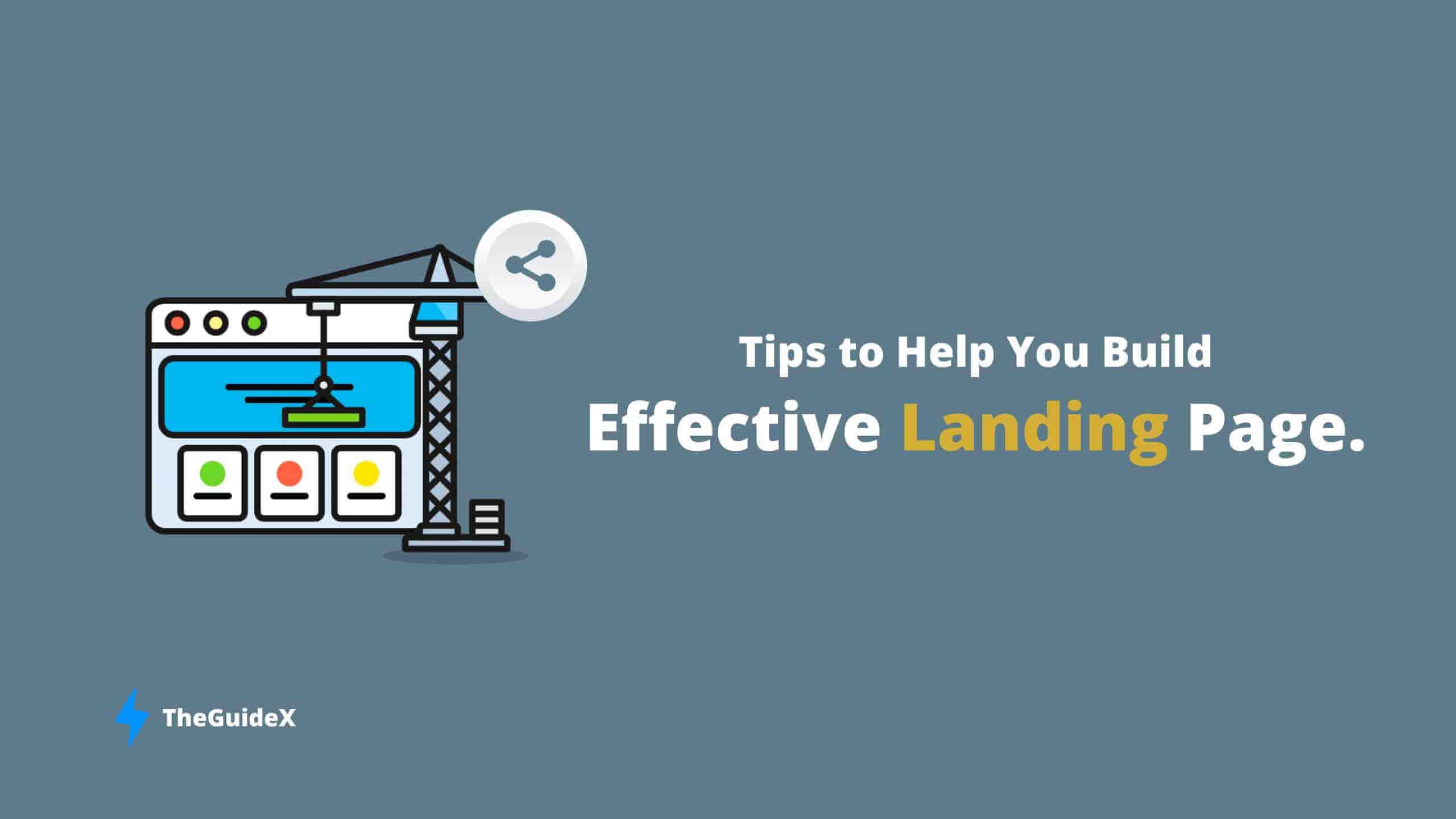 build an effective landing page, wordpress landing page, wp landing page builer
