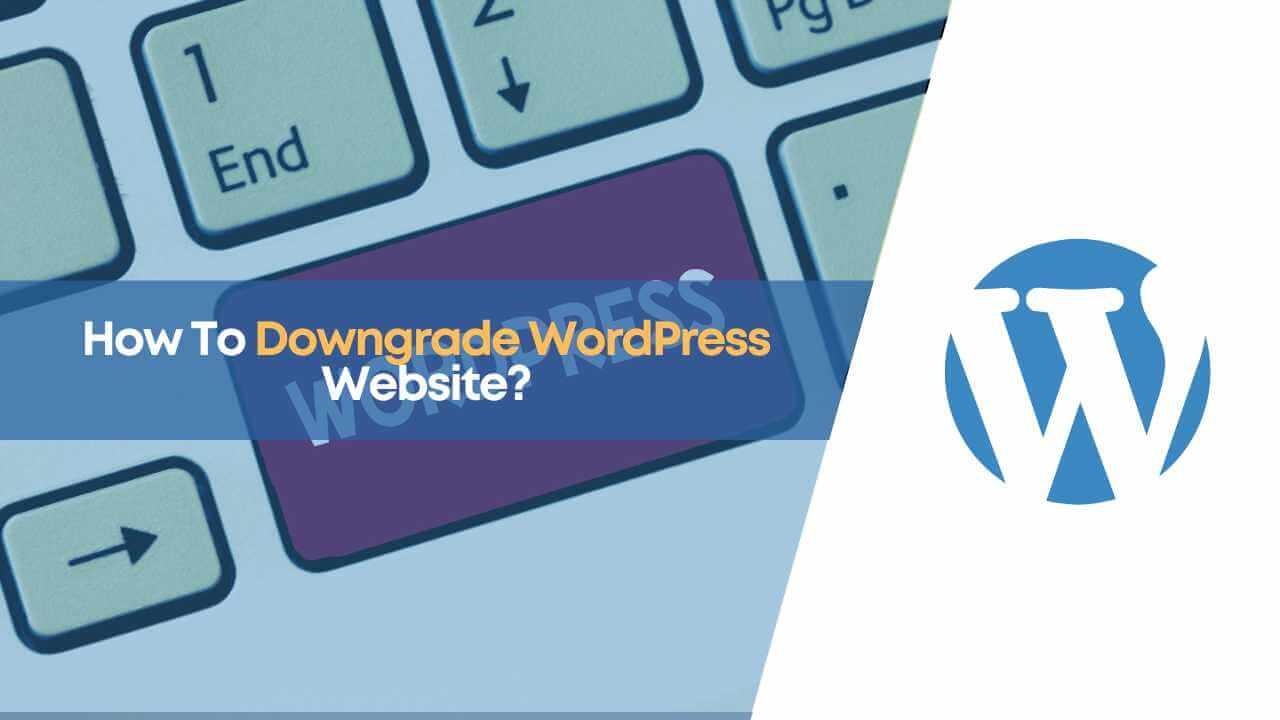 downgrade wordpress, downgrade wordpress website, how to downgrade wordpress, wordpress version
