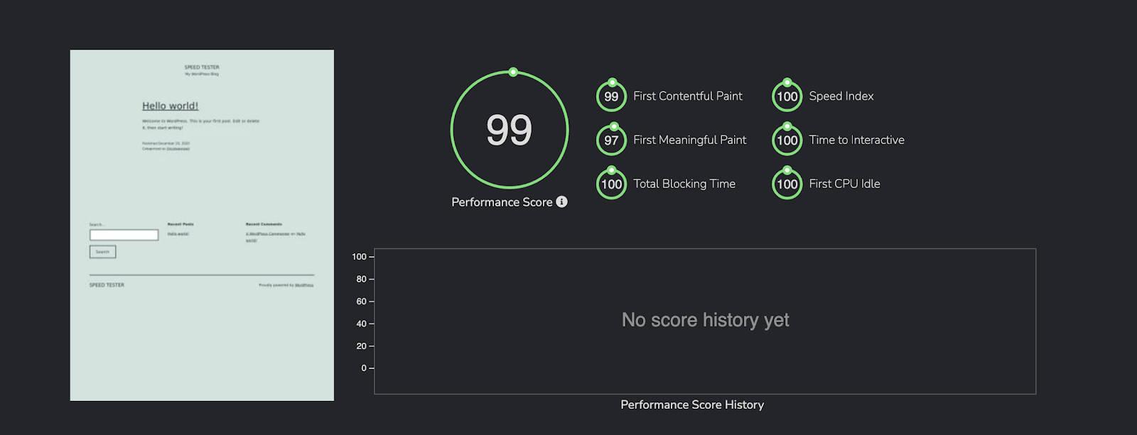 FastandSlow Score