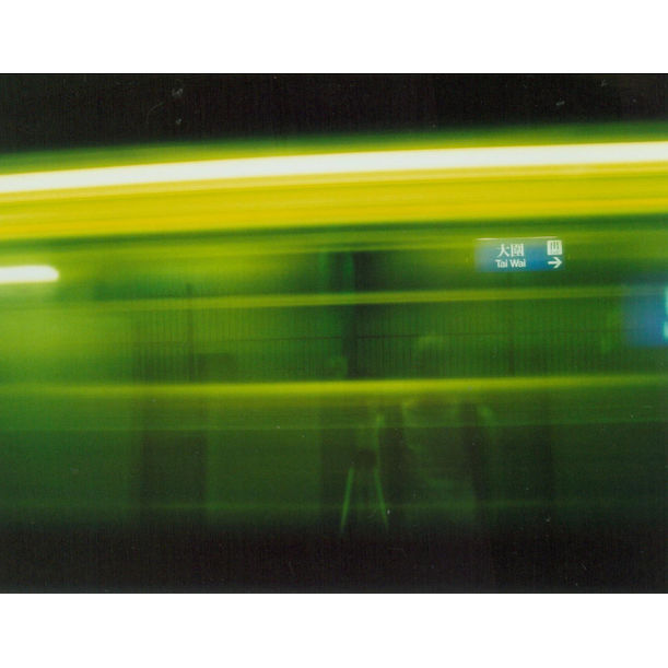 Lot 56: A Shadow that Stays on the Moving Train (Self-portrait/Tai Wai KCR Station/30 Seconds/2004-3-29)