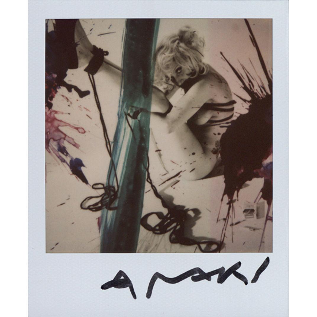 Lady Gaga (Bondage) by Nobuyoshi Araki