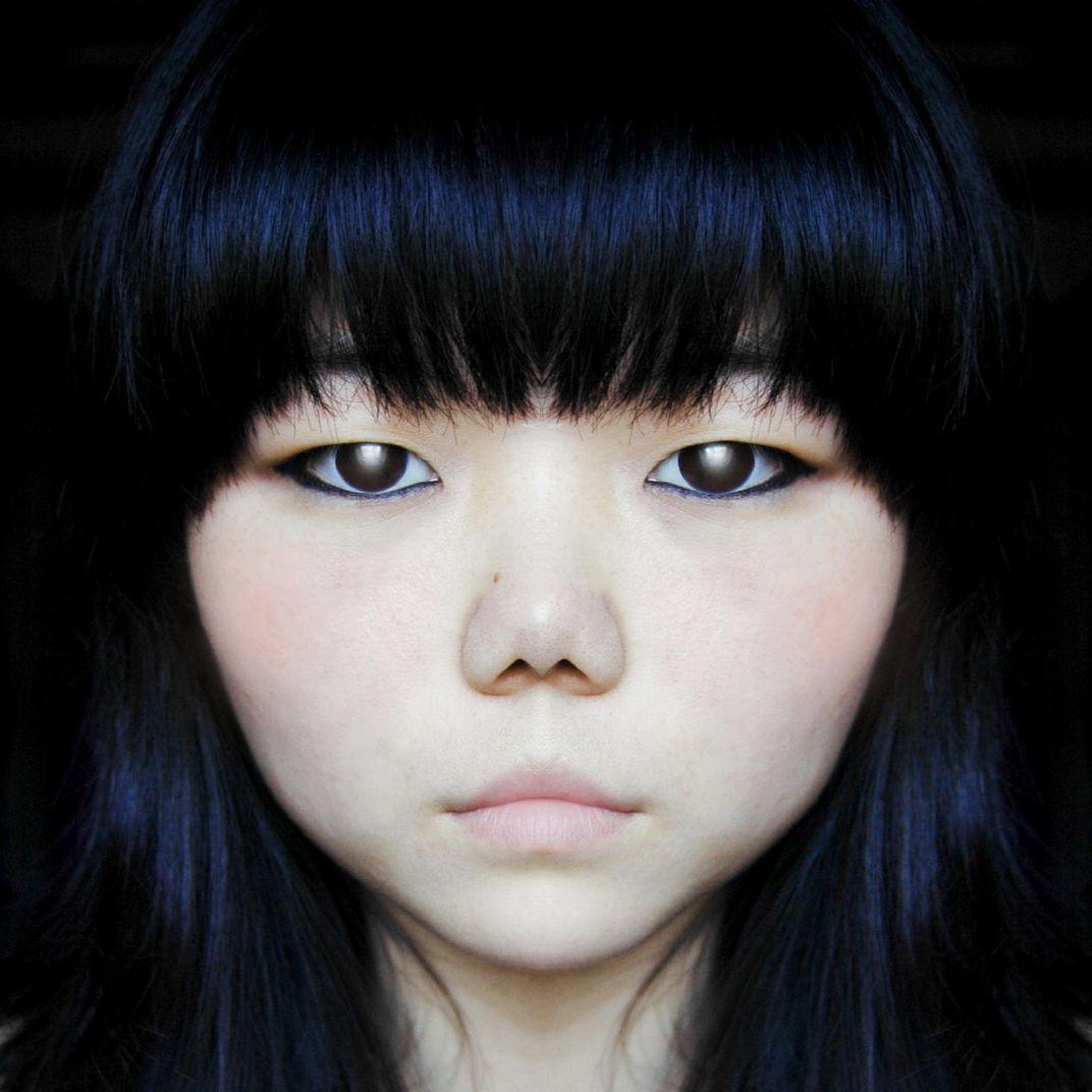 Manga Portrait by Ahn Sun Mi