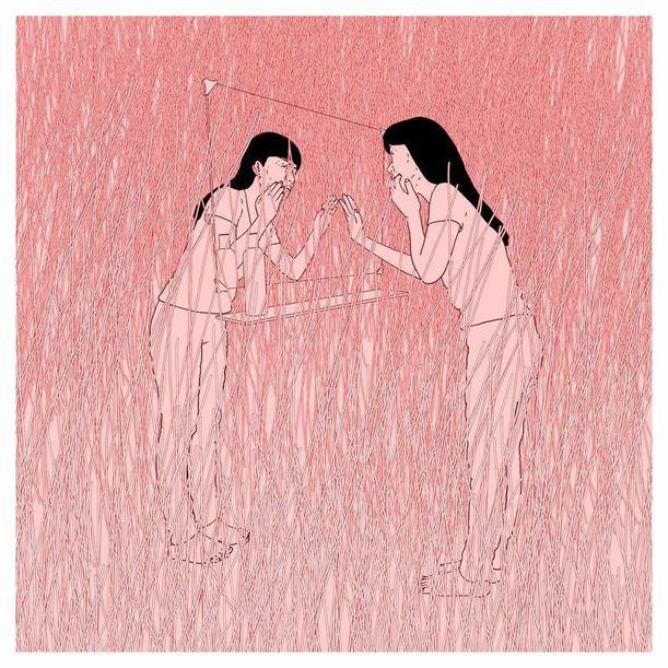 Mirror in the bathroom by Che-Yu Hsu
