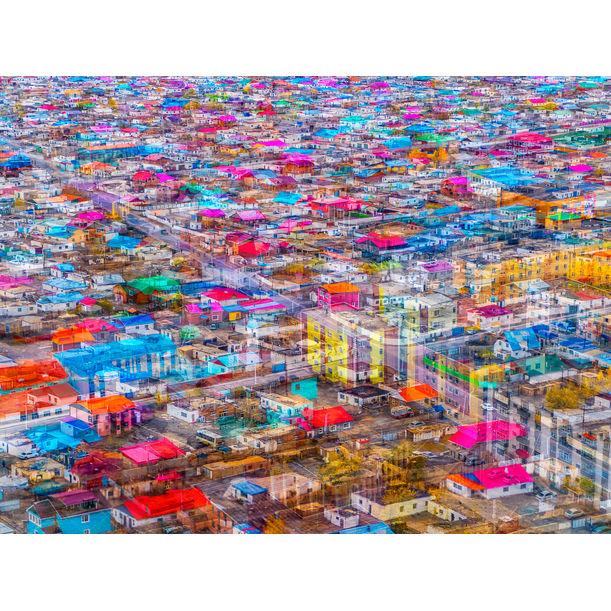 Changing Cityscape, Hopeful by Bonbon Wang