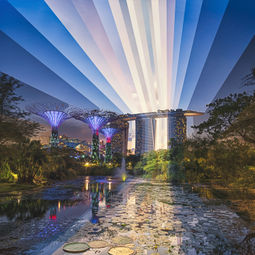 Sunset in the Garden City by Fong Qi Wei