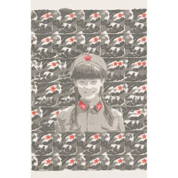 3D Female Soldier by Nan Qi