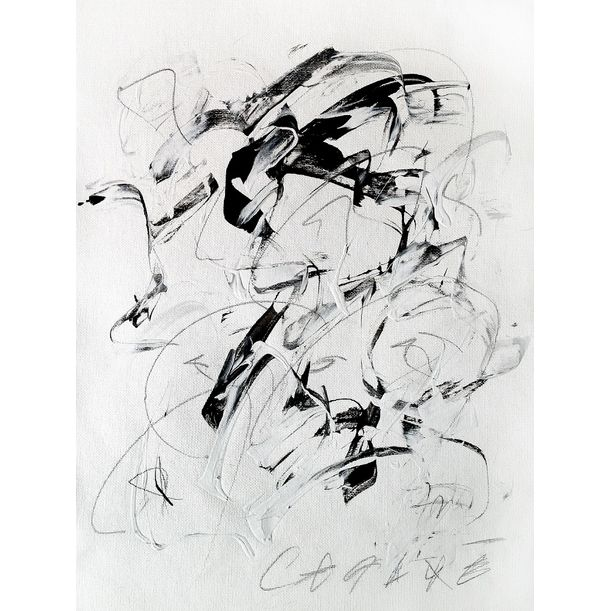 """From The Series """"Drawing Is To Painting Is To Drawing"""" No. 4 by Cesare A.X. Syjuco"""