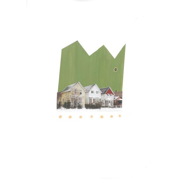 3 Houses by Debra Raymond