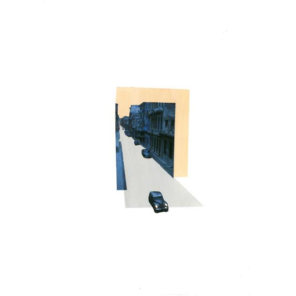 Blue Car by Debra Raymond