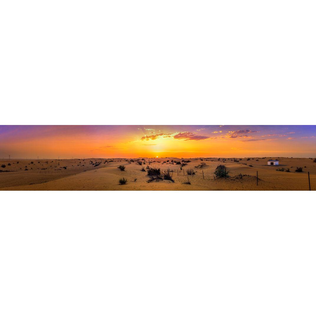 Desert Panorama by Hong Huazheng