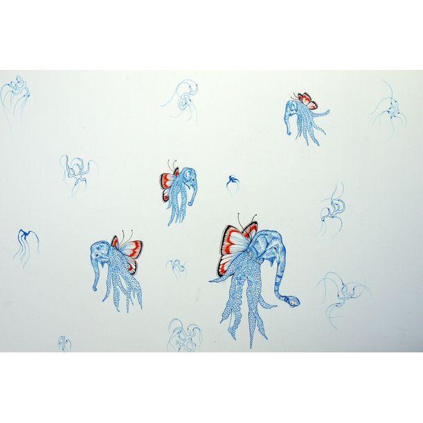 Elephant Octopii (Original) by Amelia Ilangaratne