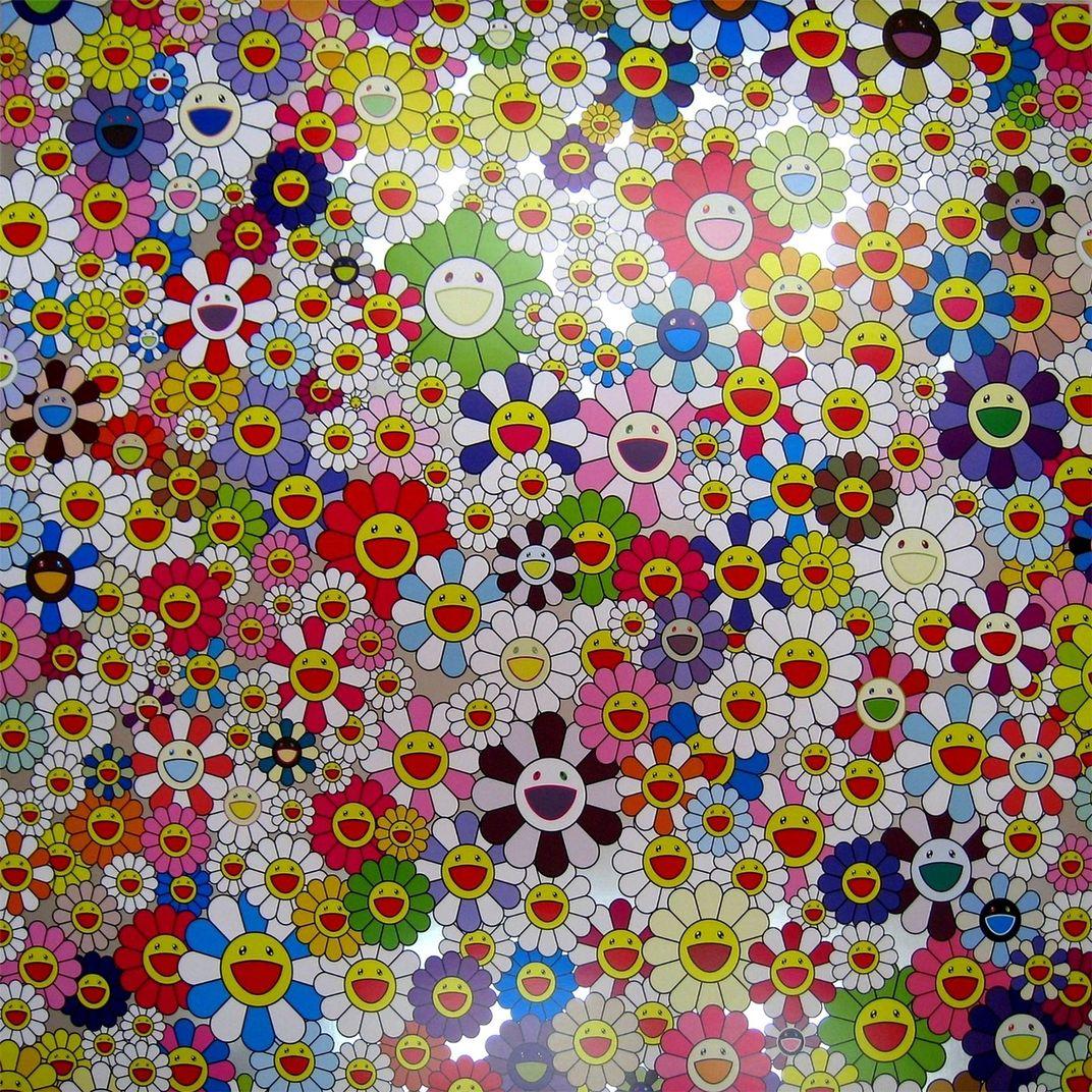 Flowers, Flowers, Flowers, 2010 by Takashi Murakami