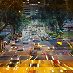Ophir Road Sunset by Fong Qi Wei