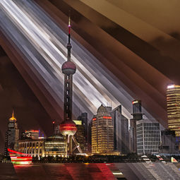 Oriental Pearl Tower Sunset by Fong Qi Wei