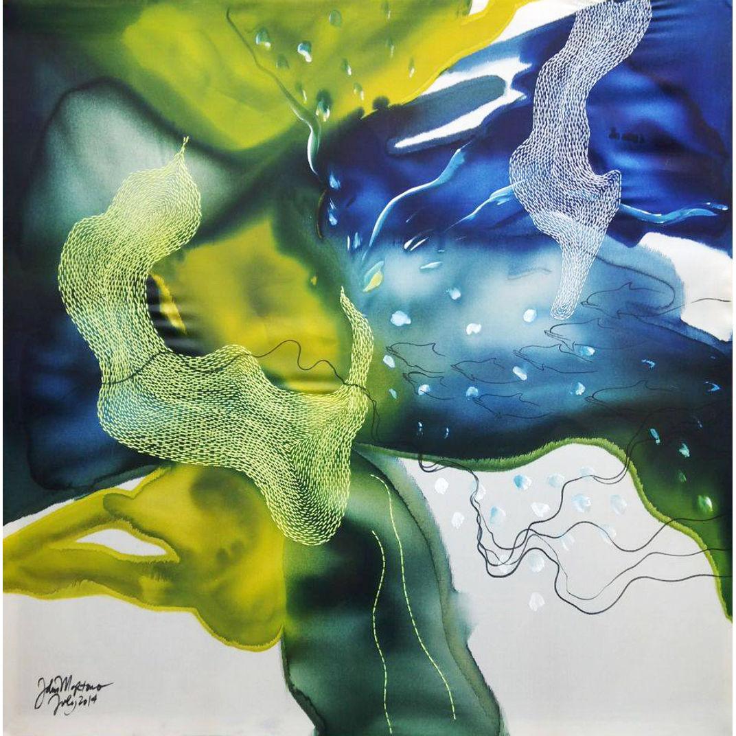 Green Happiness by John Martono