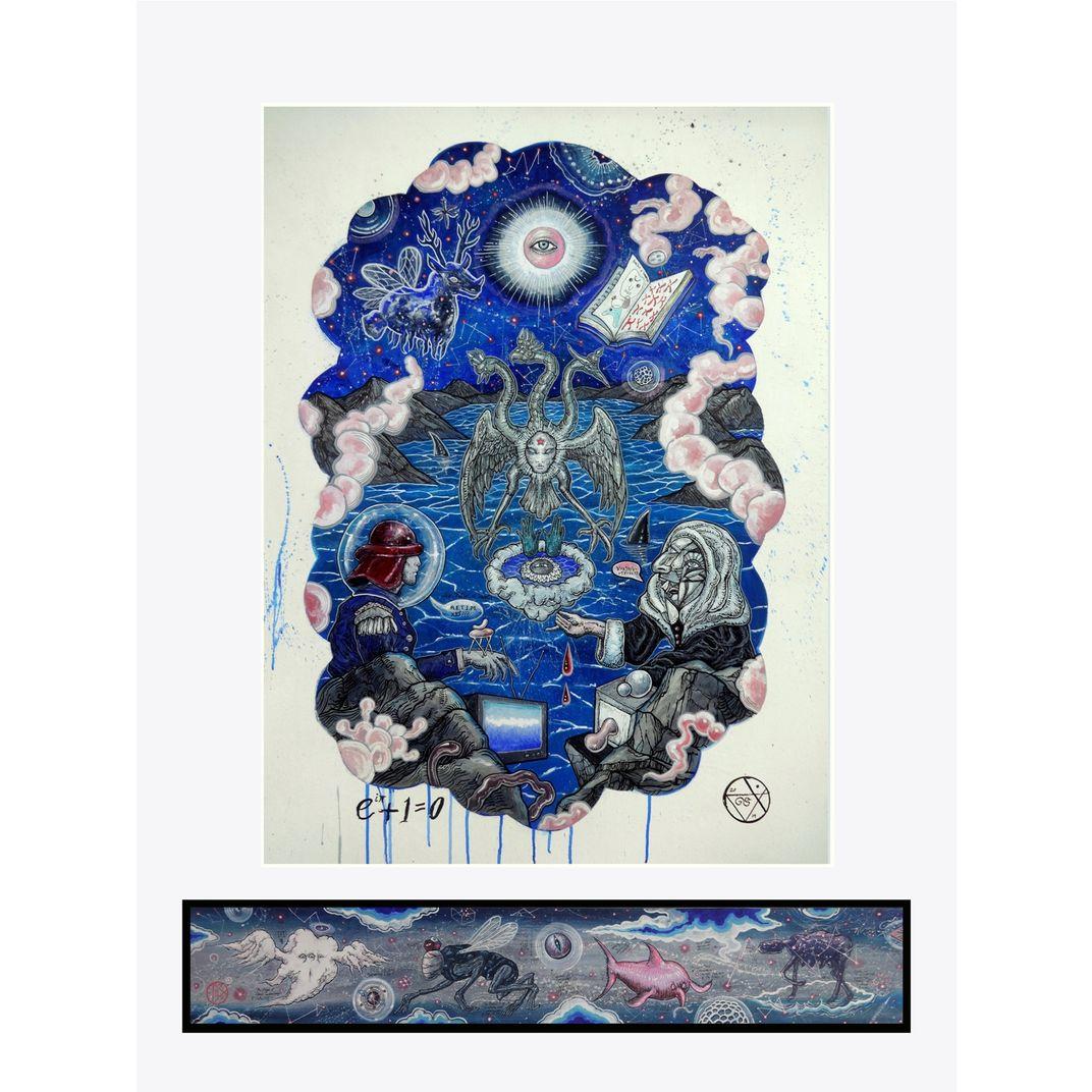 The Alterpiece of the Fernal Noosphere by Gromyko Semper
