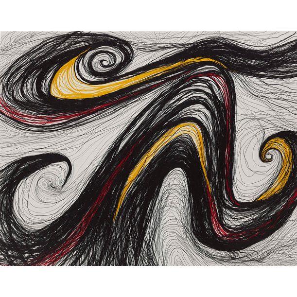 Fly Through The Wind 5 by Han Sai Por