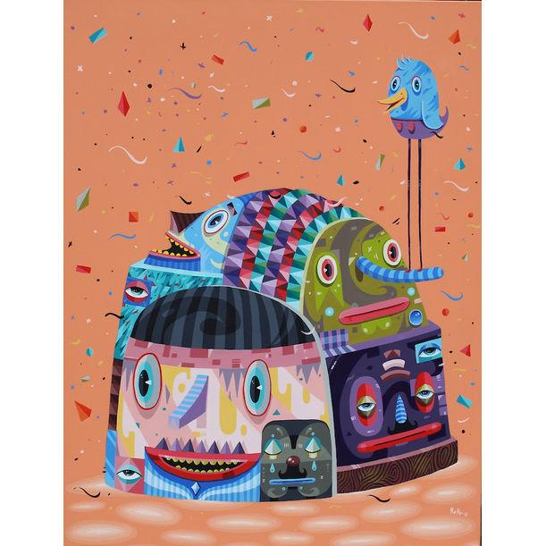 Capital Noise Head by Hendra 'Hehe' Harsono