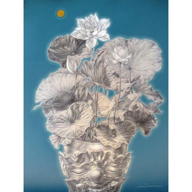 Lotus in my mind by Jirapat Tatsanasomboon